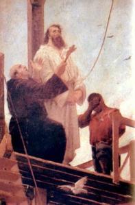 """Aurélio de Figueiredo, """"Martírio de Tiradentes"""""""